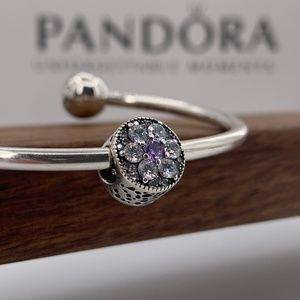 Pandora Forget Me Not Charm #791832ACZ